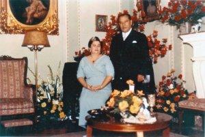 The Lozadas. The maternal grandparents.