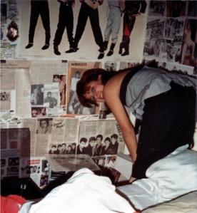 Grace with Duran Duran wallpaper