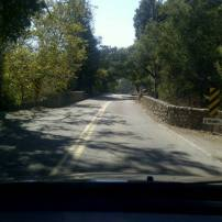Driving thru Santa Barbara