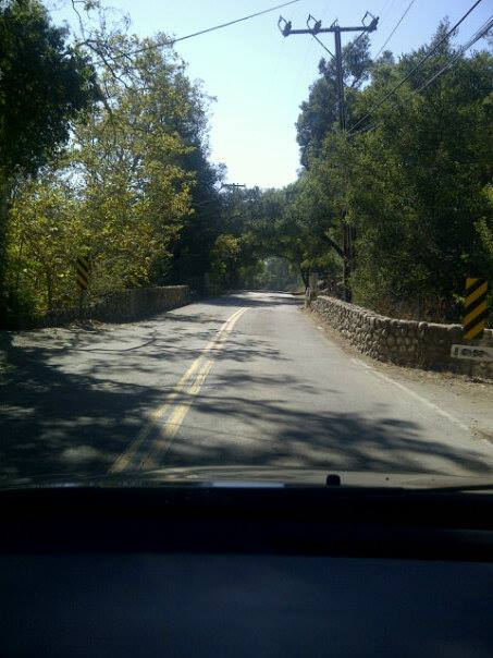 Driving thru Santa Barbara