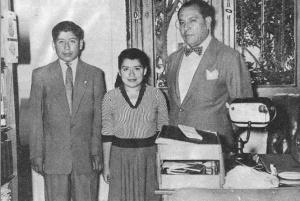 Dr. Gerardo Lozada, Lina Medina, & Gerardo